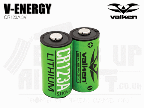 Valken CR123a Battery - 2 Pack