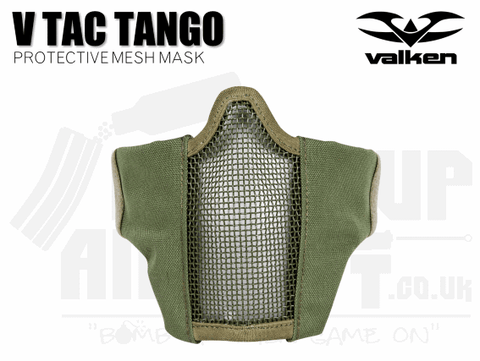 VALKEN V TACTICAL TANGO MESH MASK - OD GREEN
