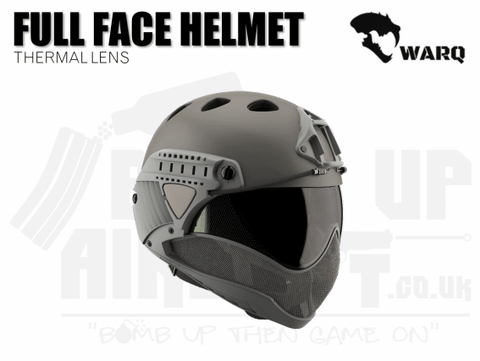 WARQ Full Face Helmet - Grey