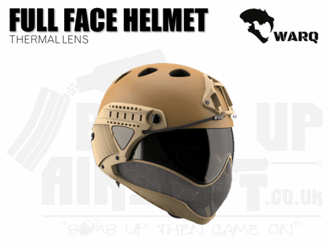 WARQ Full Face Helmet - Tan