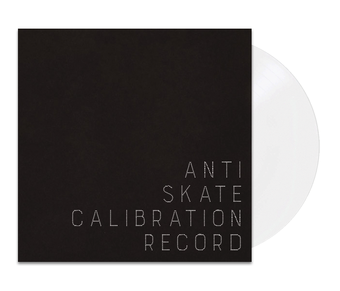 Anti-Skate Calibration Record
