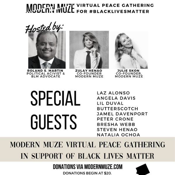 MODERN MUZE VIRTUAL PEACE GATHERING