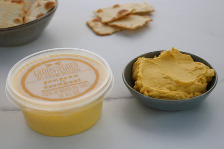 Pompoen-roomkaas spread