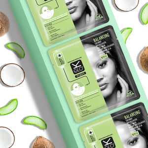 Balancing Coconut Bio-Cellulose Sheet Mask