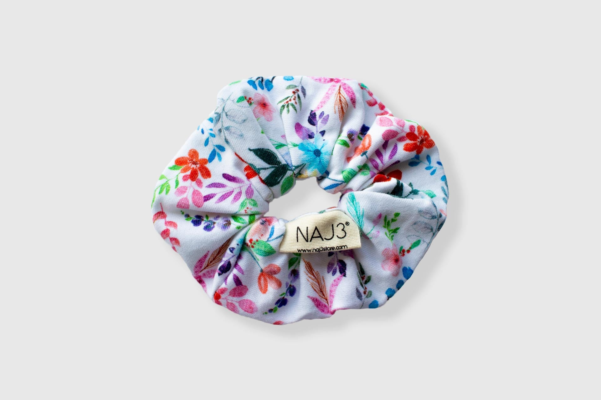 Scrunchie - FLOWERED