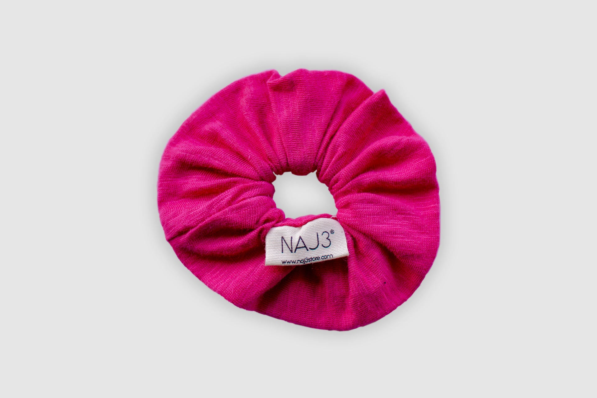 Scrunchie - Fuchsia Rose