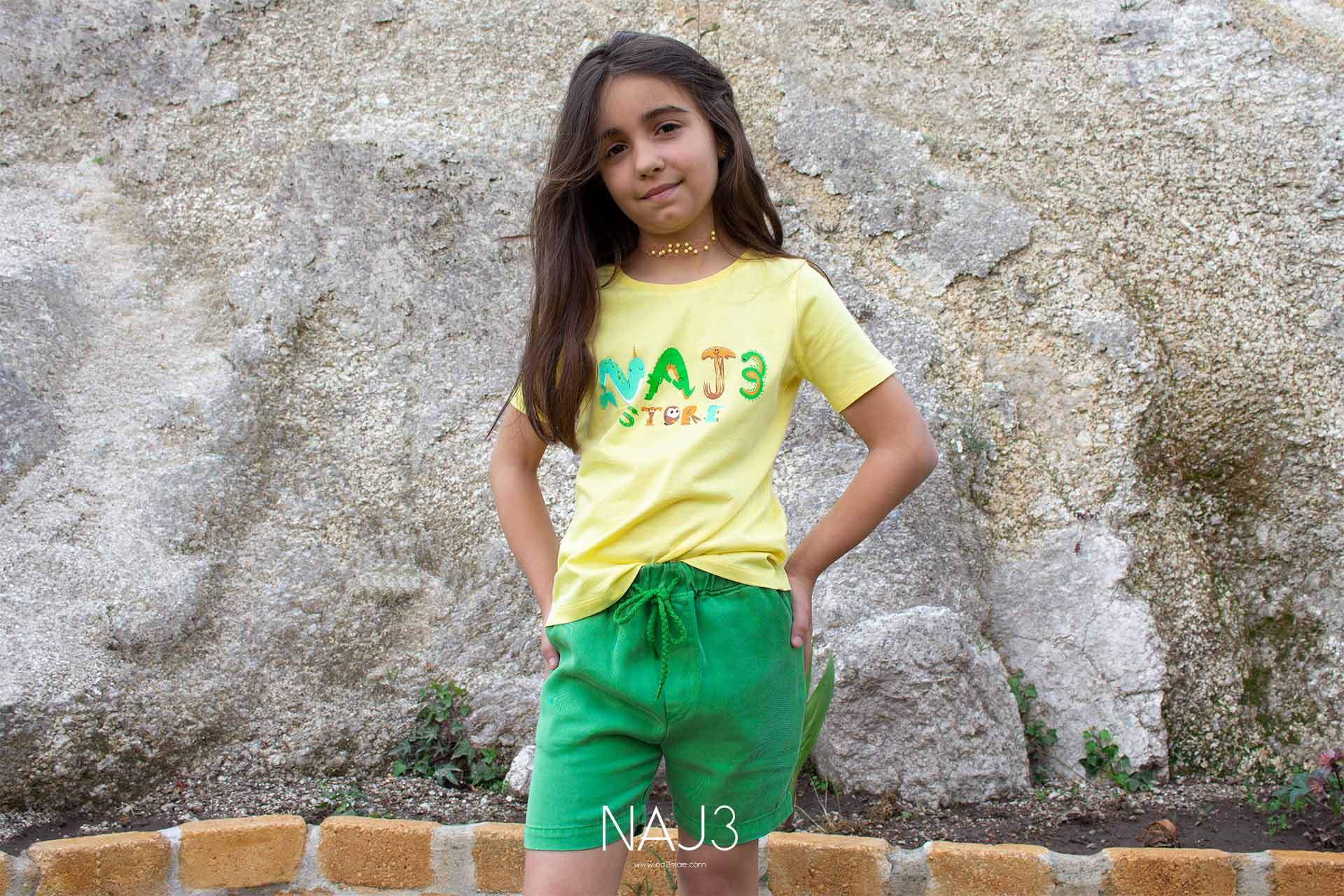 Shorts NAJ3 Green