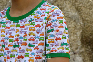 T-shirt NAJ3 Cars Boy
