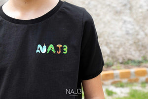 T-shirt NAJ3 Black Boy