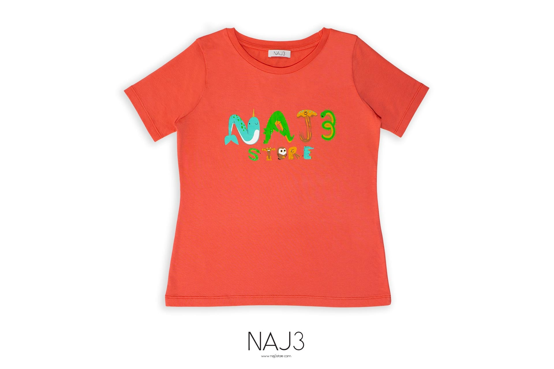 T-shirt NAJ3 Coral Girl