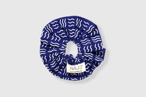 Scrunchie - Waves Pattern