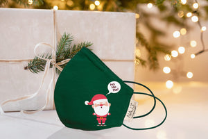 Máscara Santa Claus Green