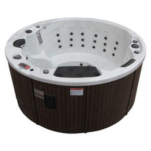 Canadian Spa Co Ottawa 5-Person 38-Jets Hot Tub with Backlit Waterfall