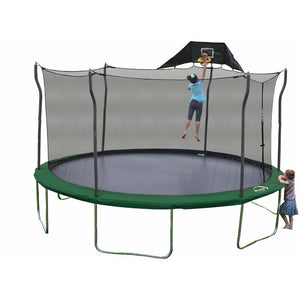 15 Foot Trampoline with Safety Enclosure