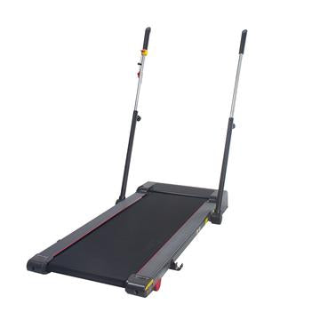 SLIM FOLDING TREADMILL TREKPAD WITH ARM EXERCISERS
