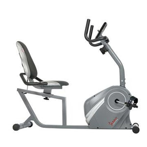 MAGNETIC RECUMBENT BIKE WITH SOFT SUPPORT SEAT