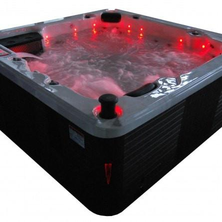 Canadian Spa Co Thunder Bay 6-Person 44-Jet Hot Tub Backlit Waterfall