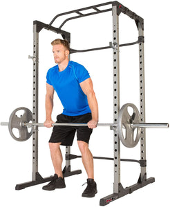 Super Max Power Cage and Adjustable Leg Hold-Down