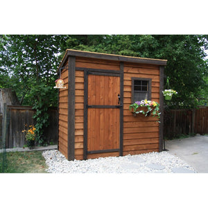 8 x 4 Solid Wood Backyard Cabana