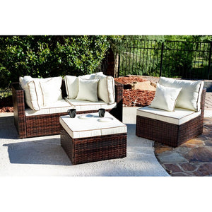 Burruss Patio Sectional with Cushions