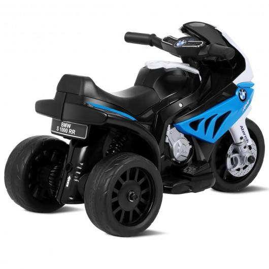 6V Kids 3 Wheels Riding BMW Licensed Electric Motorcycle-Blue by Bigwheelsusa