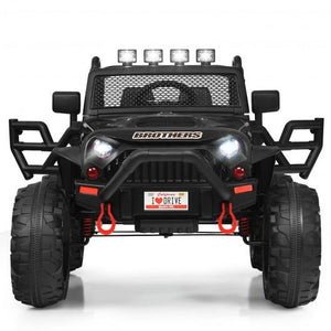 12V Kids Ride On Truck RC Motorized Car