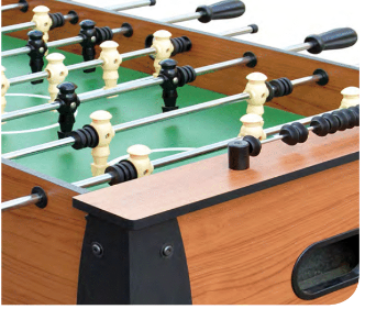 HURRICANE 54-IN FOOSBALL TABLE