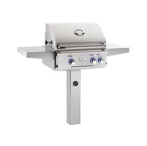 "American Outdoor Grill 24"" Grill Complete w/In-Ground Post T Series"