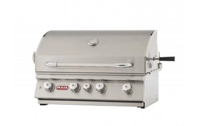 "Bull Grill Head, 30"" Angus, NG 4 Burner 75,000 BTU's, Lights, Rotis & Rotis Burner 47629"