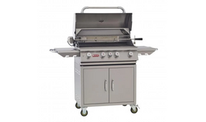 "Bull Cart Complete, 30"" Angus, LP 4 Burner, Lights, Rotis & Rotis Burner 44000"