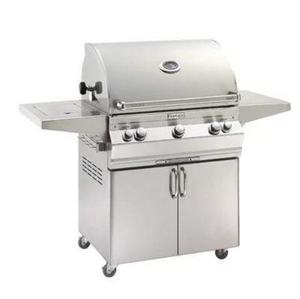 Aurora A660s Portable Grill with Single Side Burner