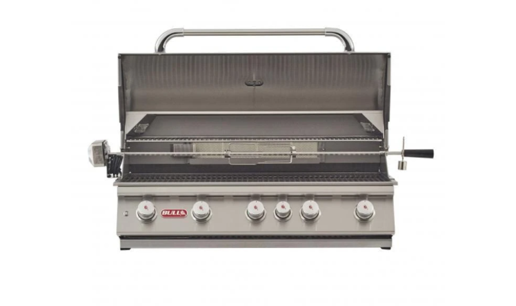 "Bull Grill Head, 38"" Brahma, LP 5 Burner 90,000 BTU's, Lights, Rotis & Rotis Burner 57568"