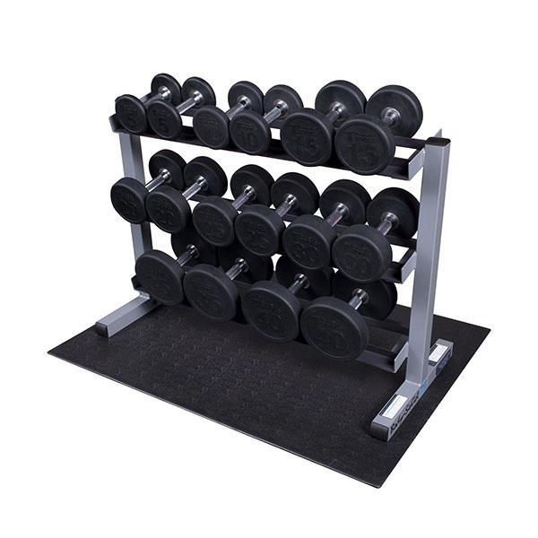 360lb. Rubber Round Dumbbell Package