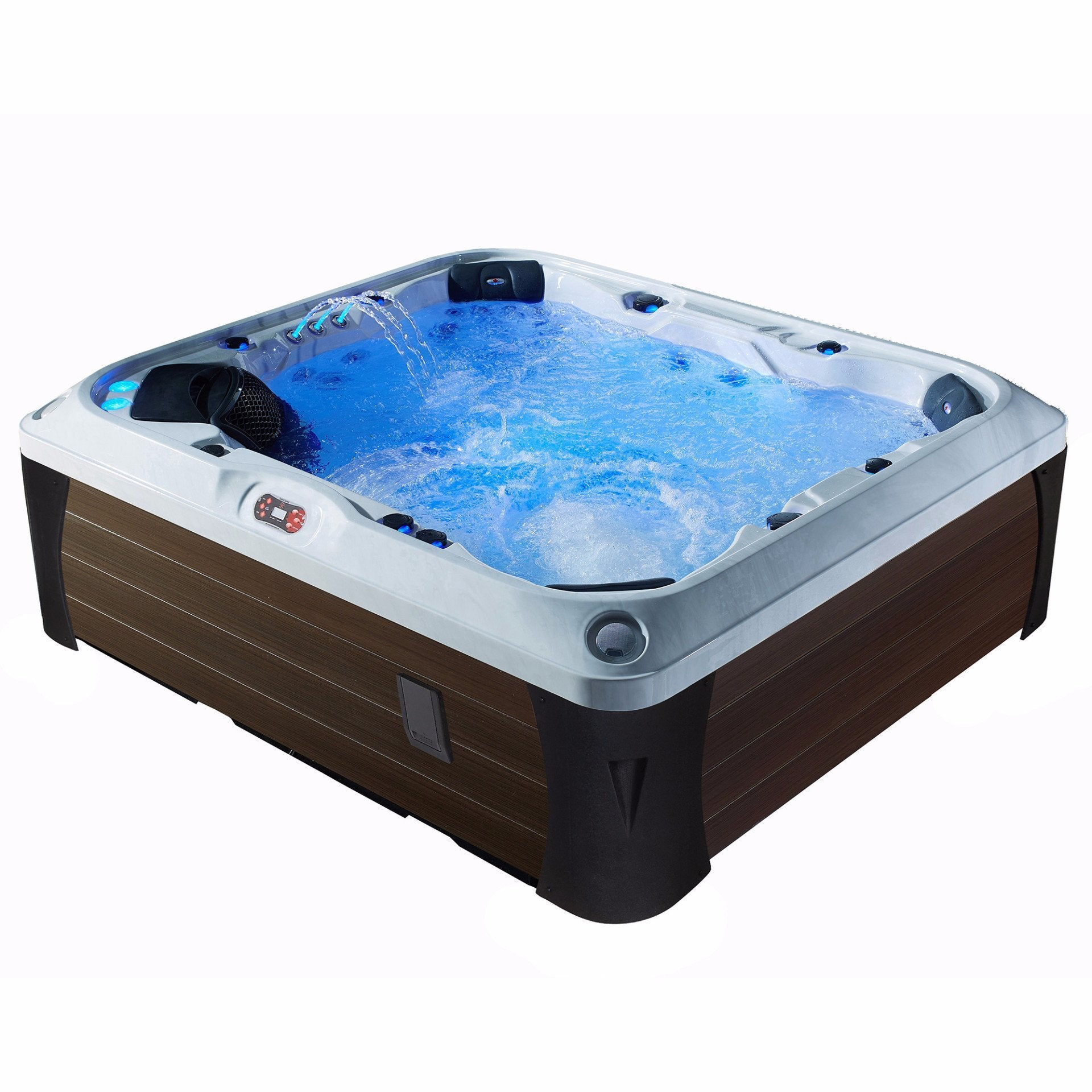 Kingston SE 55 Jet 7 Person Spa w/ LED and bluetooth speakers
