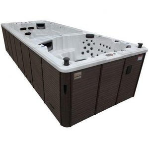 Canadian Spa Co St Lawrence 17-Person 73-Jet Swim Spa Pop-up Speakers