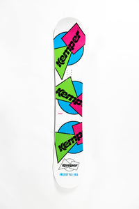 All Mountain Snowboard - Kemper Freestyle 1989/90 White by Kemper Snowboards