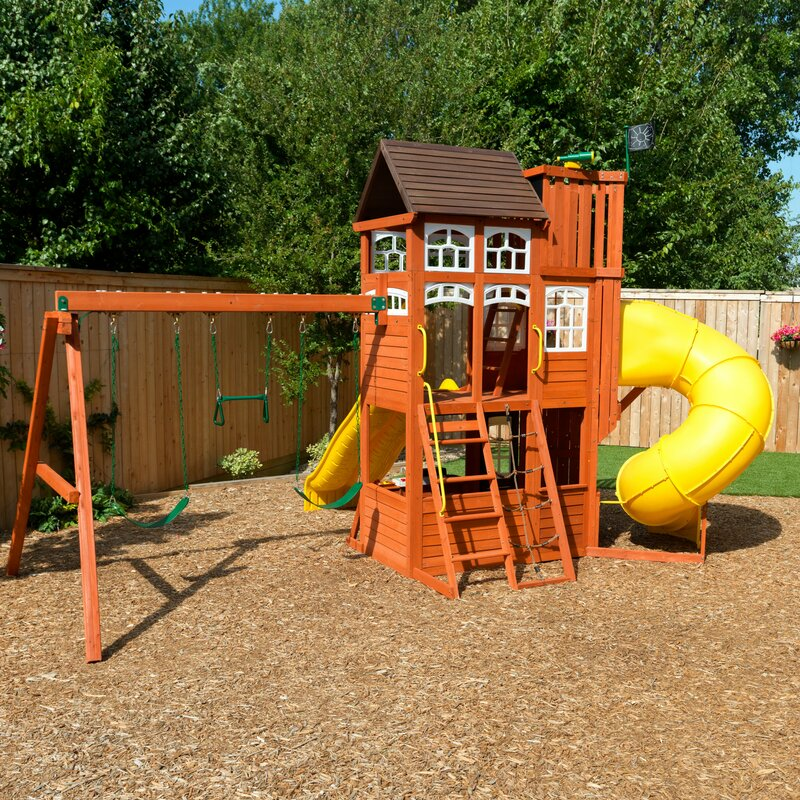 Lookout Extreme Wooden Swing Set