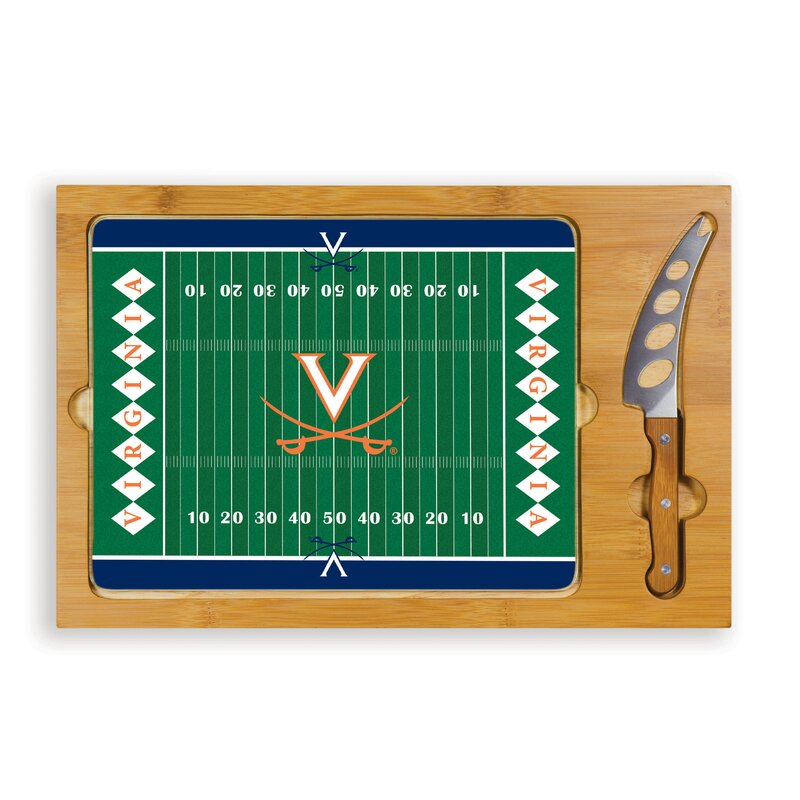 NCAA Football Icon Cutting Cheese Tray