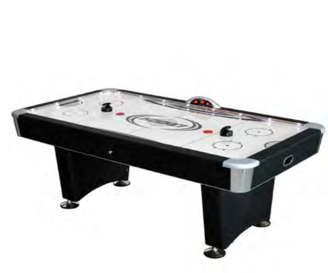 STRATOSPHERE 7-1/2-FT AIR HOCKEY TABLE W/ DOCKING STATION