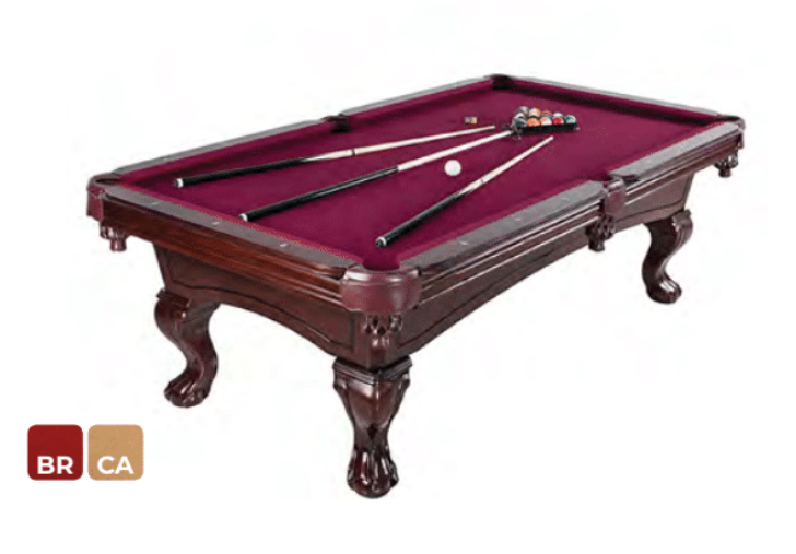 AUGUSTA 8-FT NON-SLATE POOL TABLE