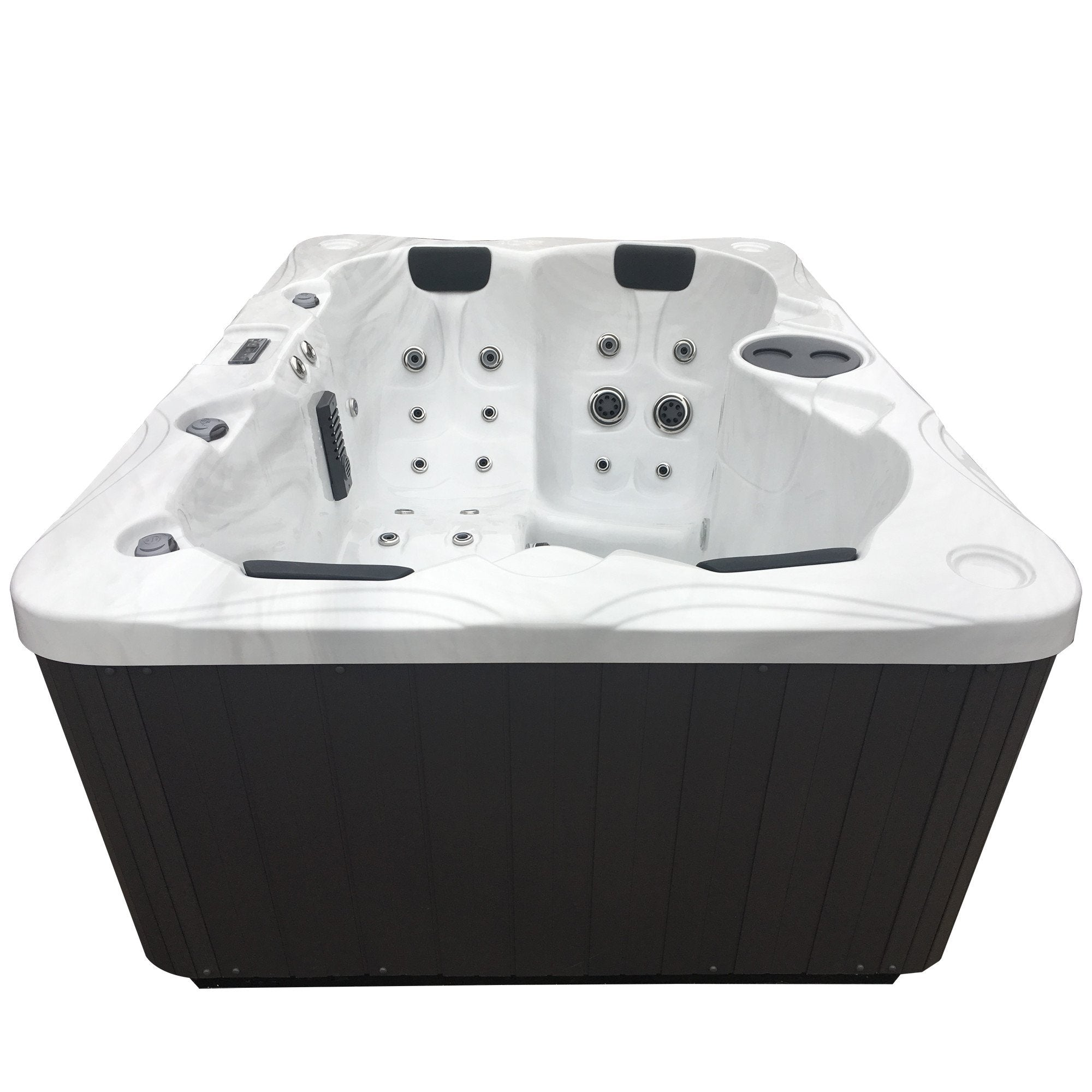 Futura Alexandria 55 Jet 3 Person LED Hot Tub w/ Lounge