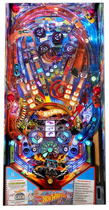 Hot Wheels Custom Arcade Pinball Machine