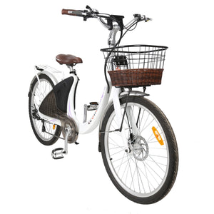Ecotric 36V 500W Lark Step Thru Electric City Bike by Ecotric
