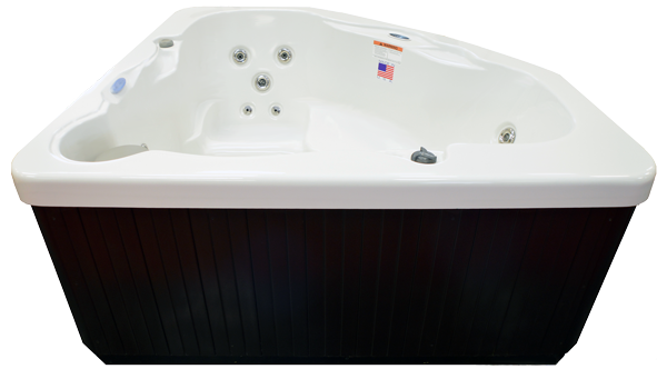 Hudson Bay Spa HB14C 3-Person 14 Jets Spa with Backlit Waterfall