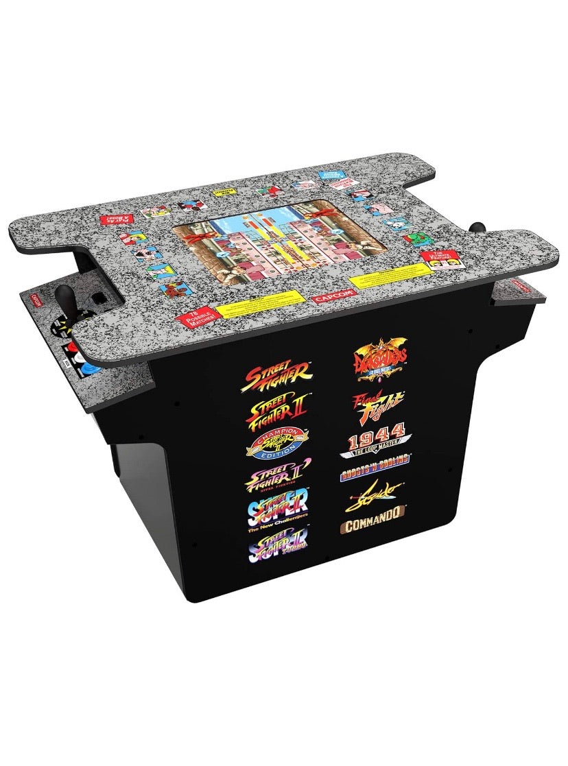 Deluxe 12-in-1 Head to Head Cocktail Table Arcade Game W 3k Game Board