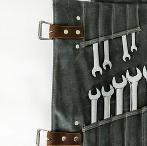 Canvas Tool Roll by Lifetime Leather Co