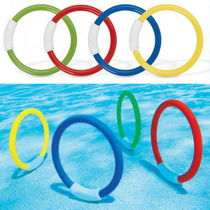 Swimming Pool Underwater Diving Rings For Children