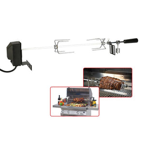 Automatic BBQ Grill Rotisserie Electric BBQ Motor Metal Outdoor Spit