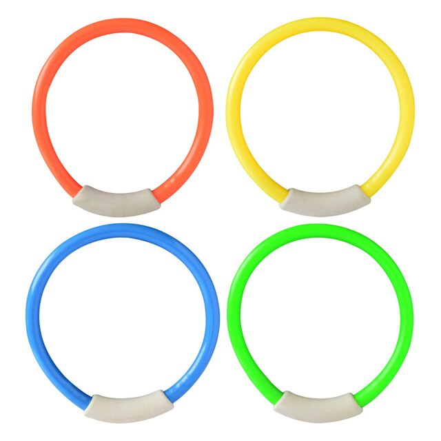 Dive Swim Rings Circle Diving Game Throwing Toy Swimming Pool