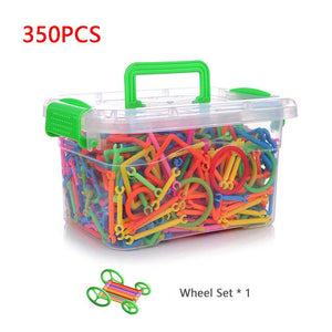 350/500pcs DIY Model Educational Building Blocks